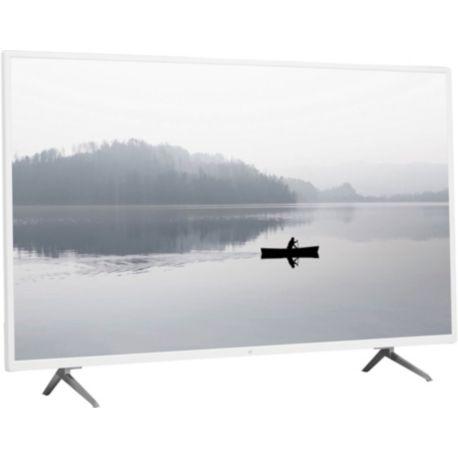 TV ESSENTIELB 43UHD-H600 Blanc Smart TV