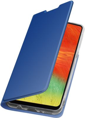 Etui Essentielb Samsung A41 bleu