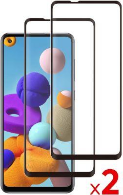 Protège écran Essentielb Samsung A21s Verre trempé x2