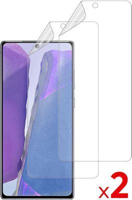 Protège écran Essentielb Samsung Note 20 Film protecteur x2