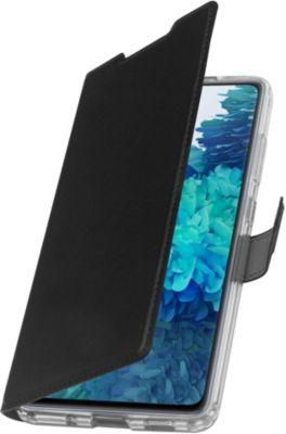 Etui Adeqwat Samsung S20 FE Cuir noir