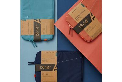 Housse ADEQWAT 13-14'' Eco Design bleue