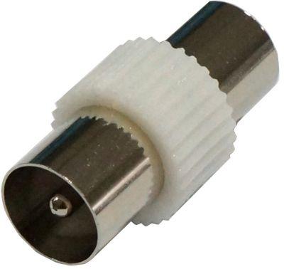 Adaptateur Câble tv/sat listo coax m 9mm/coax f 9.5mm