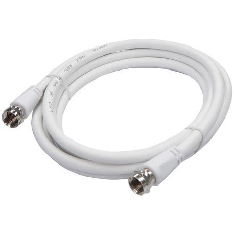 Cable coaxial LISTO 2M00 F male / F mâle