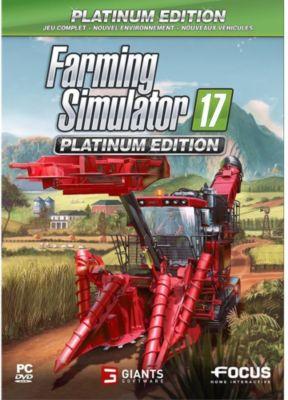 Jeu Pc focus farming simulator 17 - edition platinum