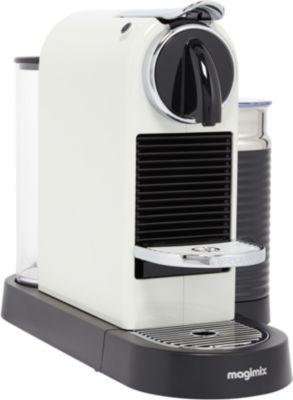 magimix citiz milk blanc 11319 nespresso boulanger. Black Bedroom Furniture Sets. Home Design Ideas