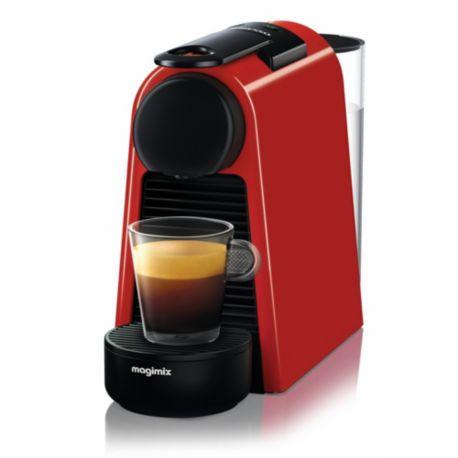 nespresso magimix essenza mini rouge 11366. Black Bedroom Furniture Sets. Home Design Ideas