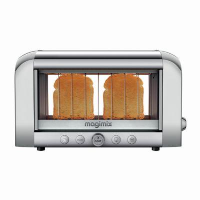 magimix 11538 vision chrome grille pain boulanger. Black Bedroom Furniture Sets. Home Design Ideas