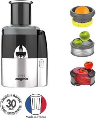 Extracteur de jus Magimix 18082F Juice Expert 3 Chrome