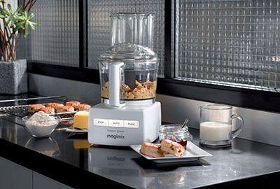 Robot MAGIMIX 3200 XL blanc + presse-agrumes
