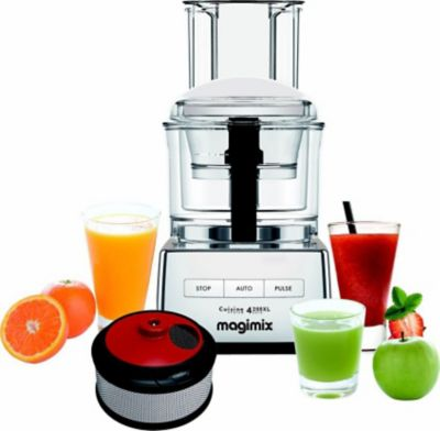 Robot multifonction Magimix 4200 XL CHROM BRILLANT + COFFRET SMOOTHI