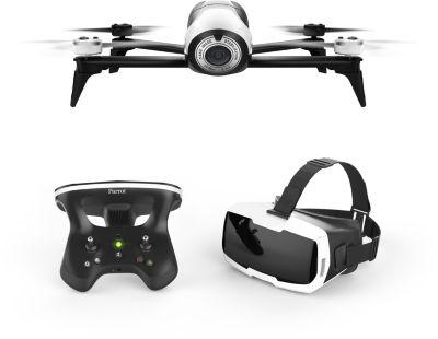 Drone Parrot Bebop 2 Blanc + Pack FPV