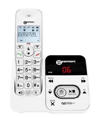 Téléphone sans fil Geemarc Amplidect 295 Blanc