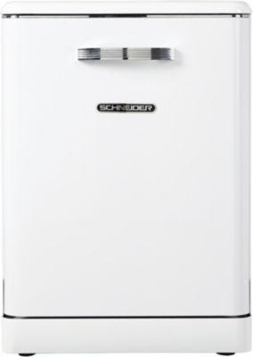Lave vaisselle 60 cm Schneider SDW1444VW Vintage Blanc