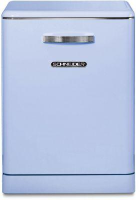 Lave vaisselle 60 cm Schneider SDW1444VBL Vintage bleu