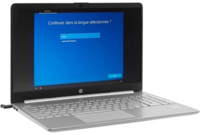 Portable HP Pack 15s-fq1032nf+housse+Office 365