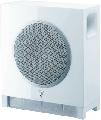 Caisson de basse focal sub air blanc