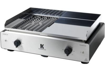 Plancha KRAMPOUZ Duo BBQ/Plancha électrique GECIO2OA00