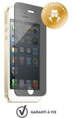 accessoire iphone force glass iphone 5s se verre tremp confidentiel boulanger. Black Bedroom Furniture Sets. Home Design Ideas