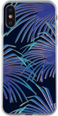 Coque Bigben iphone x palm gold