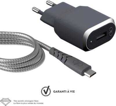 Chargeur Secteur force power chargeur secteur + cable usb 1.2m