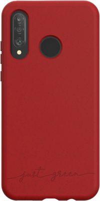 Coque Just Green Huawei P30 Lite/XL Bio rouge