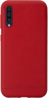 Coque Just Green Samsung A51 Bio rouge