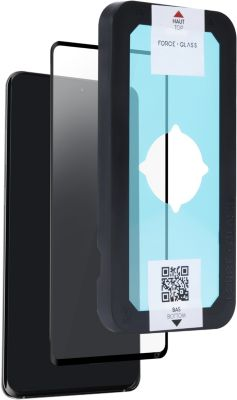 Protège écran Force Glass Samsung A51 4G Evo Organic noir
