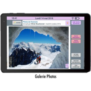 Tablette senior CDIP FACILOTAB L 2020 10.1 16Go