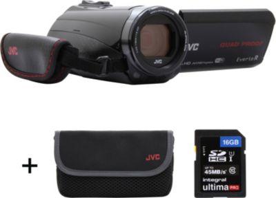 Caméscope JVC GZ-RX645 Noir + Etui + SD 16Go