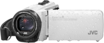 Caméscope JVC GZ-R495 Blanc + SD 16Go