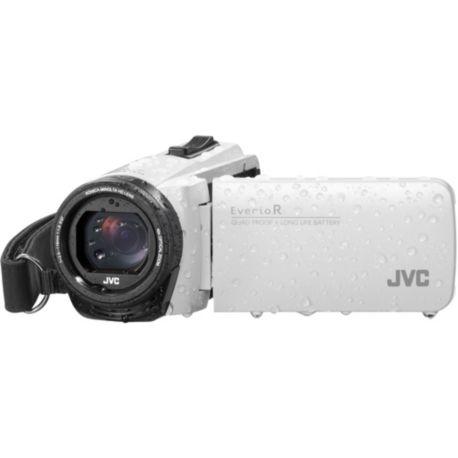 Camescope JVC GZ-R495 Blanc + SD 16Go