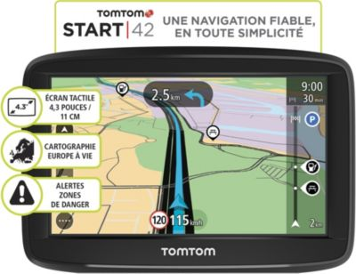 GPS Tomtom Pack Start 42 Europe 48 + Housse