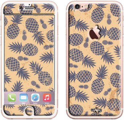 Sticker Upperandco iPhone 6/6S Ananas