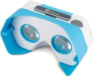 Casque de réalité virtuelle . iam vr bleu