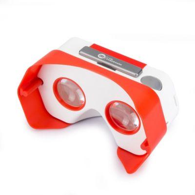 Casque de réalité virtuelle . iam vr rouge