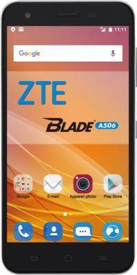 Smartphone ZTE A506 noir