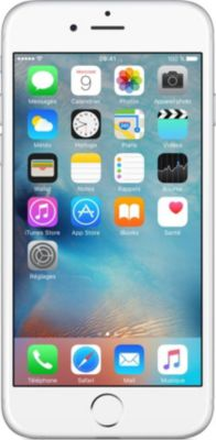 Smartphone Apple iPhone 6 Silver 16Go + Coque offerte !