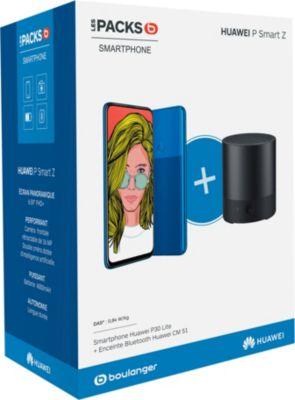 Smartphone Huawei Pack Psmart Z Bleu + Enceinte CM510 Noir