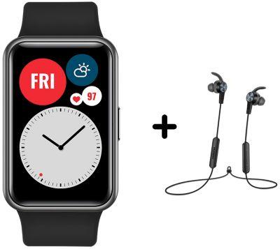 Montre connectée Huawei Pack Watch Fit Noir