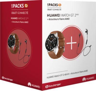 Montre connectée Huawei Pack Watch GT 2 Marron 46mm+AM61