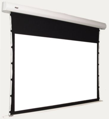 Ecran de projection oray orion moteur tensionne 180x320