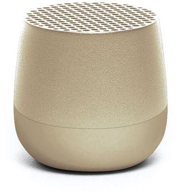 Enceinte Bluetooth Lexon MINO bleu doré