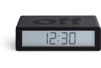 Réveil LEXON Flip+ Travel Clock Bleu Can