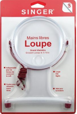 Accessoire Couture singer loupe broderie