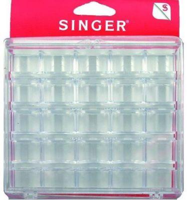 Accessoire Couture singer boîte à canettes en plastique - 25 empla