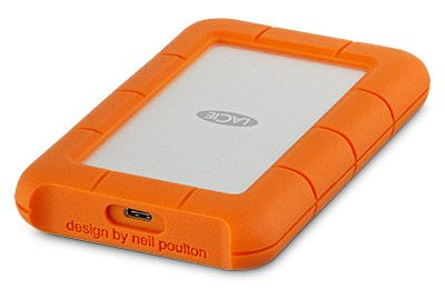 Disque LACIE 2.5'' 1To Rugged Mini USB3.1 Type C