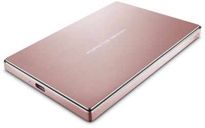 Disque dur externe Lacie 2.5'' 2To Porsche Design Rose Gold