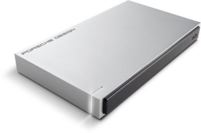 Disque dur externe Lacie 2.5'' 1To Porsche Design USB 3.0 P9223