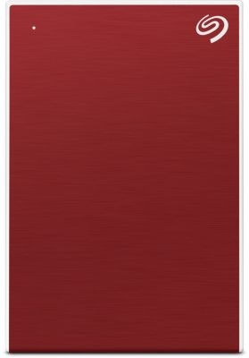 Disque dur externe Seagate 2.5'' 1To New Backup Plus Slim Rouge